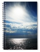 Sweeping Clouds Spiral Notebook
