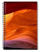 Sweeping Swirls Spiral Notebook