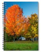 Sweet Autumn Spiral Notebook