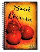 Sweet Cherries - Kitchen Art Spiral Notebook