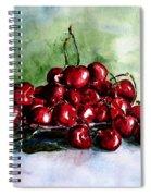 Sweet Cherries Spiral Notebook