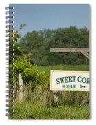Sweet Corn Spiral Notebook