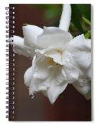 Sweet Gardenia Rain Spiral Notebook