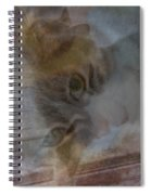 Sweet Girl On A Summer's Day Spiral Notebook