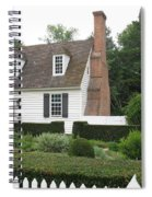 Sweet Home In Colonial Williamsburg Spiral Notebook