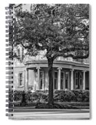 Sweet Home New Orleans Bw Spiral Notebook