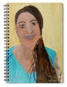 Sweet Lady  Spiral Notebook