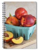 Sweet Nectarines Spiral Notebook