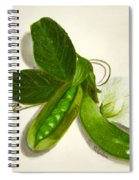 Pea Pods Spiral Notebook