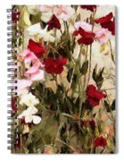 Sweet Pea Swath Spiral Notebook
