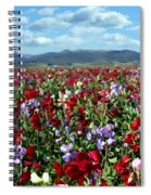 Sweet Peas Forever Spiral Notebook