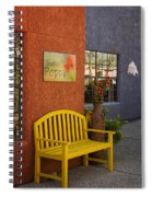 Sweet Poppy Shops Tubac Arizona Dsc08406 Spiral Notebook