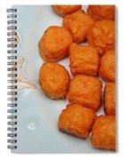Sweet Potato Puffs Spiral Notebook