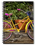 Sweet Ride Spiral Notebook