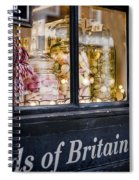 Sweet Shop Spiral Notebook