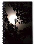 Sweet Silhouette Spiral Notebook