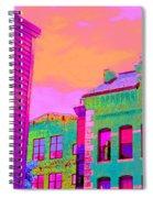 Sweet Street  Spiral Notebook
