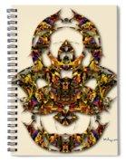 Sweet Symmetry - Kiss Spiral Notebook