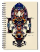 Sweet Symmetry - Projections Spiral Notebook