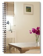 Sweetpea Table Spiral Notebook