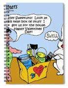 Sweetums Spiral Notebook