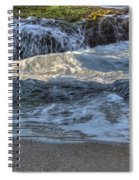 Swell And Receed  Spiral Notebook