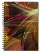Swept Spiral Notebook