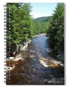 Swift River Below Rocky Gorge New Hampshire White Mountains Spiral Notebook