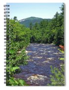 Swift River Mountain View Kancamagus Hwy Nh Spiral Notebook