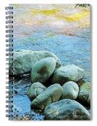 Swift River Rock Kancamagus Highway Nh Spiral Notebook