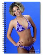 Swim 44 - Crop Spiral Notebook