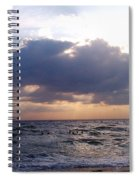 Swim Before Storm Spiral Notebook