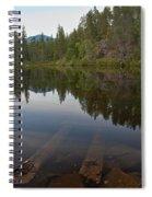 Swim Lake Spiral Notebook