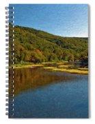 Swimming Hole Impasto Spiral Notebook