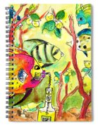 Swimming In A Sea Of Limoncello Spiral Notebook