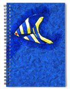 Swimming In A Sea Of Sky Spiral Notebook