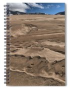 Swimming In The Dunes Spiral Notebook
