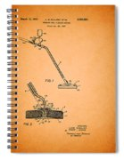 Swimming Pool Cleaning Device Patent Spiral Notebook