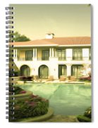 Swimming Pool In Luxury Hotel Spiral Notebook