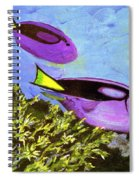 Swimmingly Spiral Notebook