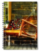 Swing Me Spiral Notebook
