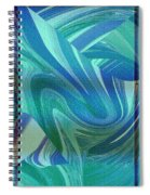 Swirling Abstract Spiral Notebook
