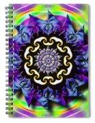 Swirling Crown Spiral Notebook