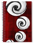 Swirling Round Spiral Notebook