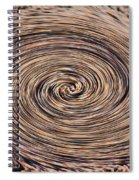 Swirling Sand Spiral Notebook