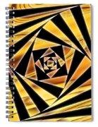 Swirling Spirals Spiral Notebook