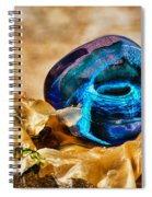 Swirls And Seaweed Spiral Notebook