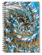 Swirly Mirror Spiral Notebook