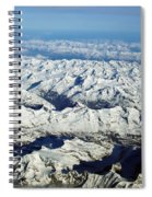 Swiss Alps Spiral Notebook