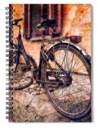 Swiss Bicycle Spiral Notebook